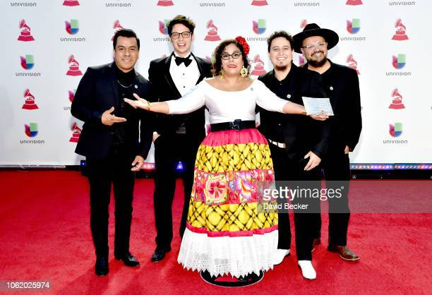 Music group La Santa Cecilia attends the 19th annual Latin GRAMMY Awards at MGM Grand Garden Arena on November 15 2018 in Las Vegas Nevada