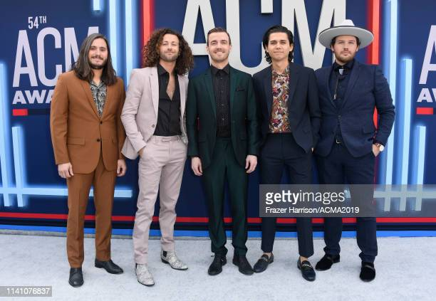 Music group Lanco attends the 54th Academy Of Country Music Awards at MGM Grand Hotel Casino on April 07 2019 in Las Vegas Nevada