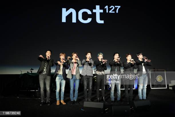 Music group NCT 127 performs onstage during Capitol Music Group's 6th annual Capitol Congress premiering new music and projects for industry and...