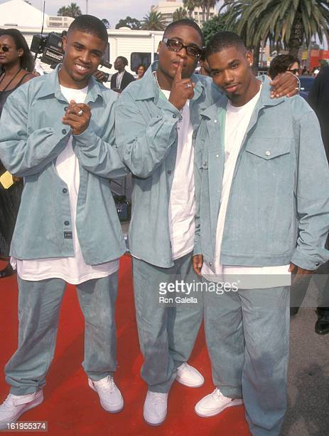 B music group Next attends the Fourth Annual Soul Train Lady of Soul Awards on September 3 1998 at Santa Monica Civic Auditorium in Santa Monica...