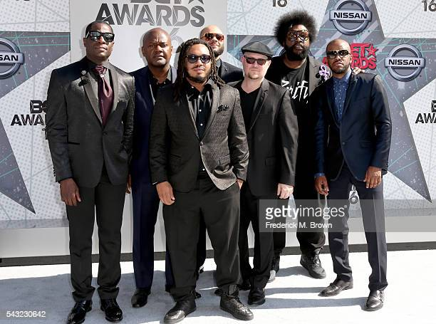 Music group The Roots attend the 2016 BET Awards at the Microsoft Theater on June 26 2016 in Los Angeles California