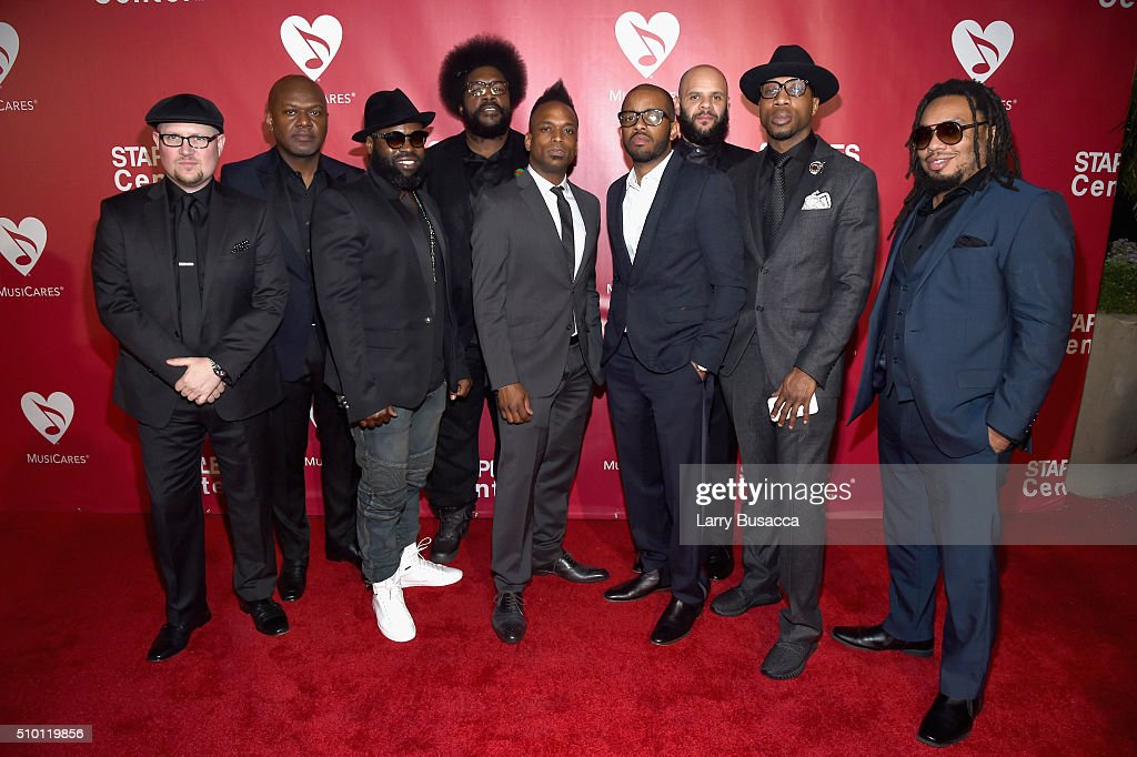 Music group The Roots attend the 2016 MusiCares Person of the Year honoring Lionel Richie at the Los Angeles Convention Center on February 13, 2016 in Los Angeles, California.