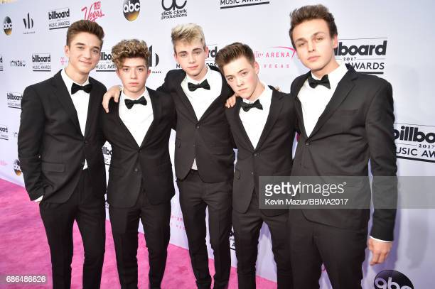 Music group Why Don't We attend the 2017 Billboard Music Awards at TMobile Arena on May 21 2017 in Las Vegas Nevada