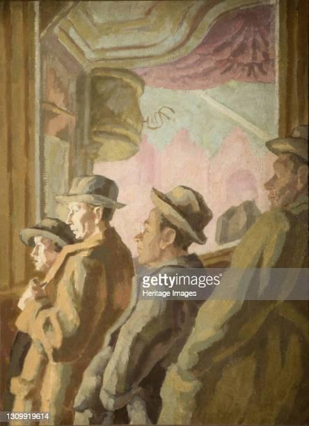 Music Hall Audience, 1945. Artist Thérèse Lessore. .