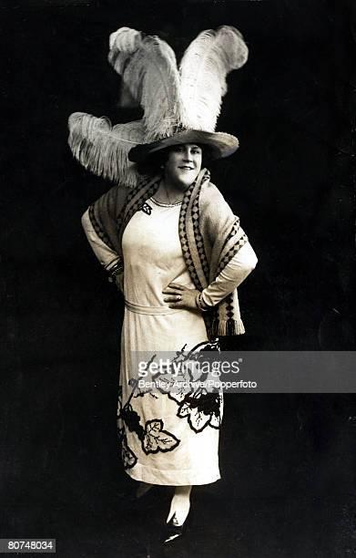 circa 1920's Music hall star Ida Barr