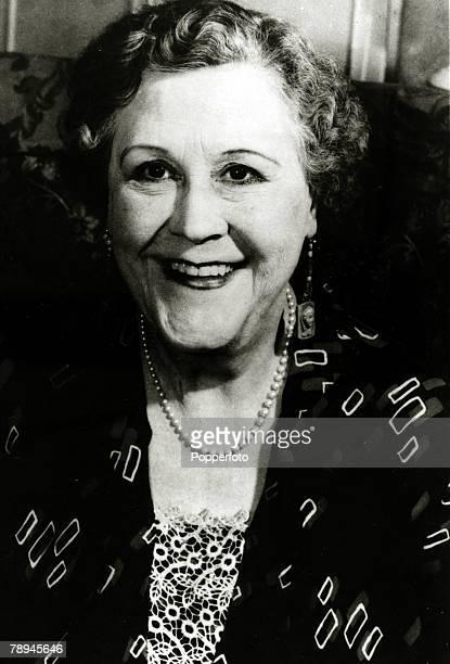 circa 1965 Former music hall star Ida Barr