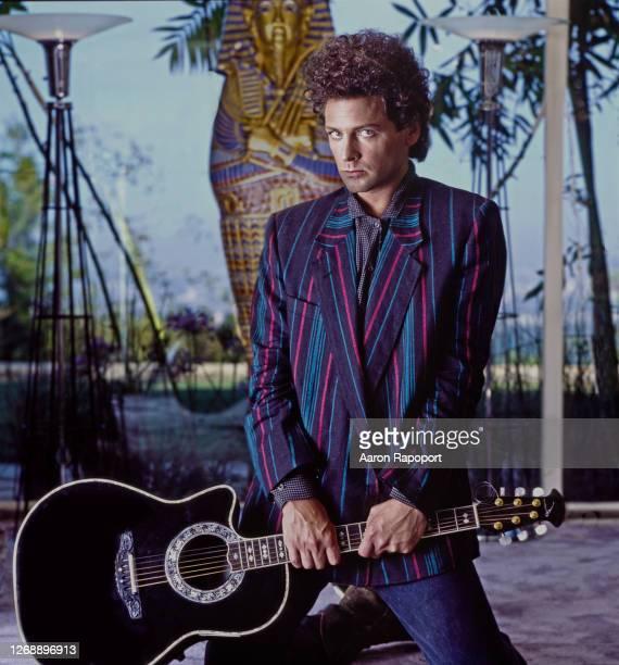 Music icon Lindsay Buckingham in Los Angeles, California.