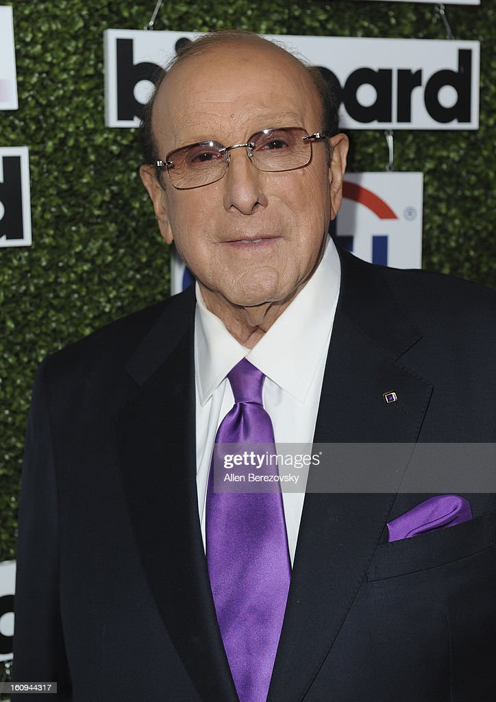 Music industry executive Clive Davis attends the 1st Annual Billboard Power 100 Event honoring Clive Davis at The Redbury Hotel on February 7, 2013 in Hollywood, California.