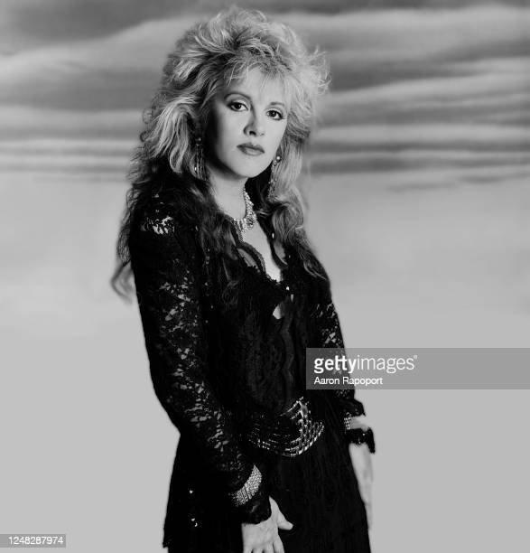 Music legend Stevie Nicks poses for a portrait in Los Angeles, California