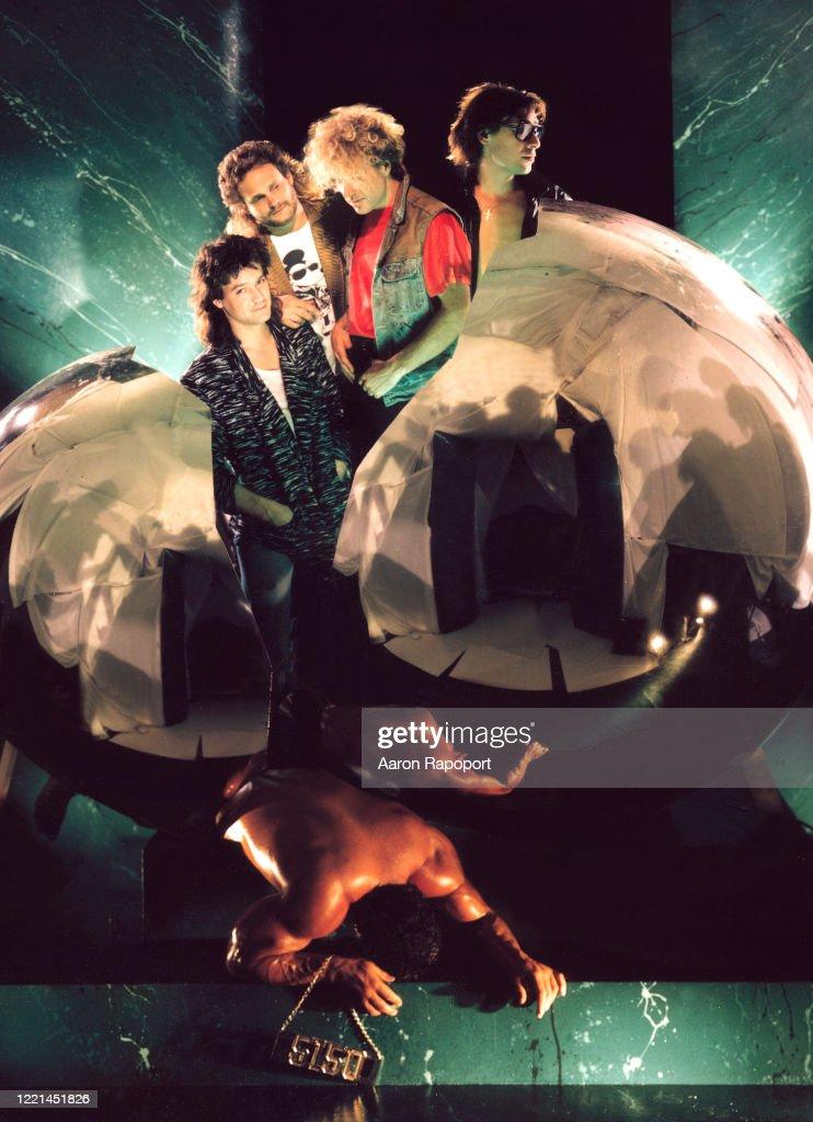 Van Halen 5150 album cover Session 1986 : ニュース写真