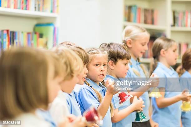 music lesson junior school uk - participant stock photos and pictures