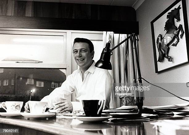 Music London England 7th December 1967 British pop composer Les Reed pictured in his office