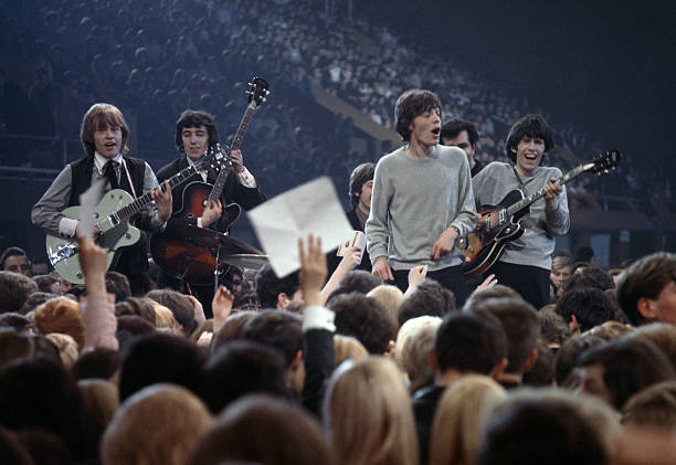 Music London, The rock band The Rolling Stones performing...