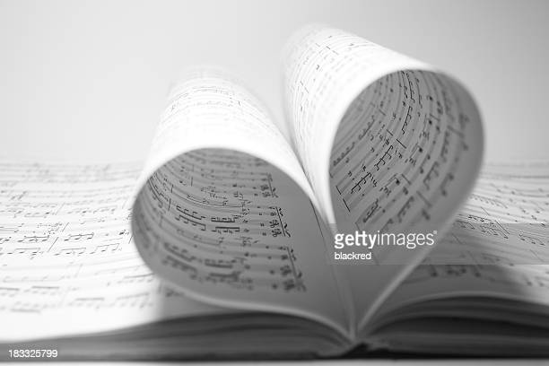 music love - musical note stock photos and pictures