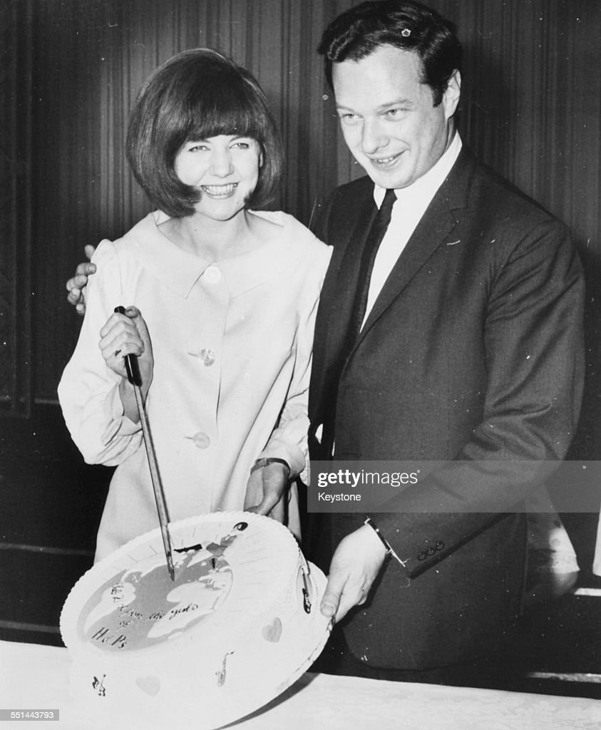Brian Epstein And Cilla Black : News Photo