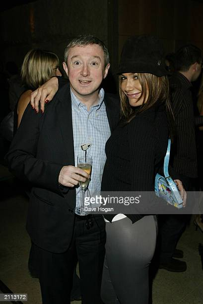Music Manager Louis Walsh and 'IT' girl and socialite Tara Palmer-Tomkinson attend the Launch Party for Westlife album 'Unbreakable' on November 11...