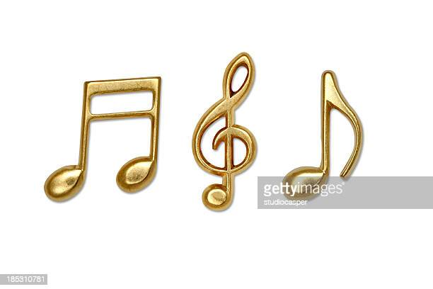 music note - musical note stock photos and pictures