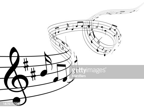 Note musicali 3d foto stock getty images for Note musicali dwg