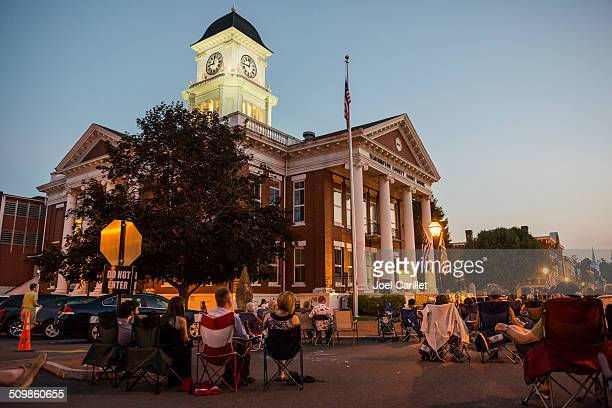 Music on the Square in Jonesborough Tennessee