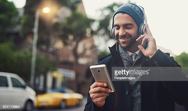 Music on....World off
