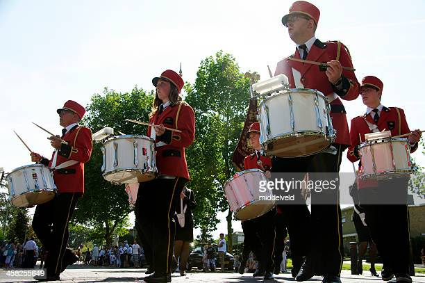 music parade in brunssum - at the bottom of stock pictures, royalty-free photos & images