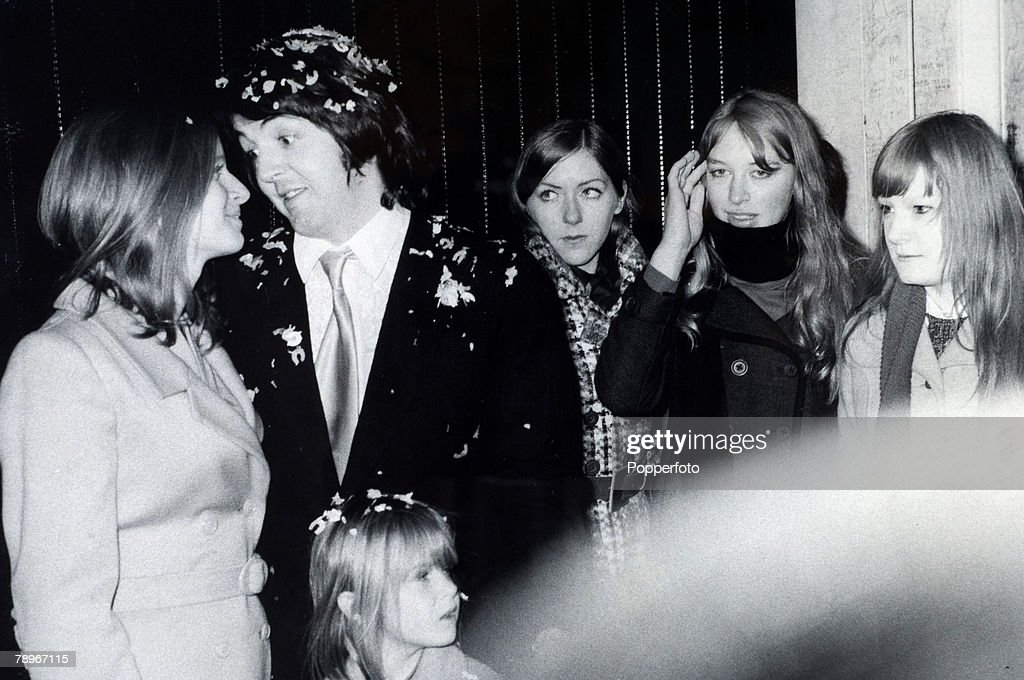 12th March 1969 Paul McCartney The Last Of Beatles To Marry Poses With