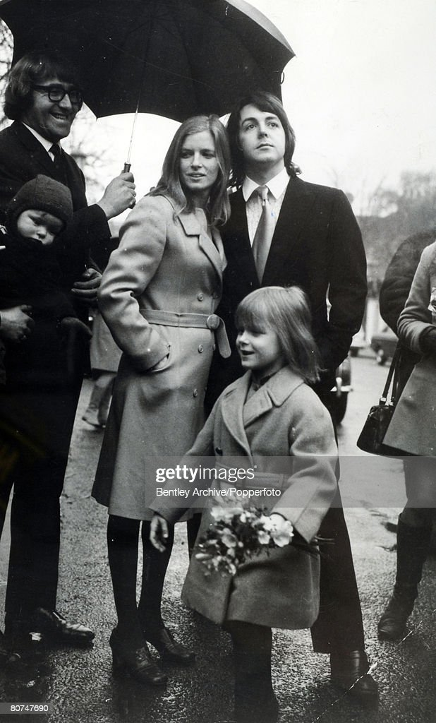 GBR: 12th March 1969 - Paul McCartney Marries Linda Eastman