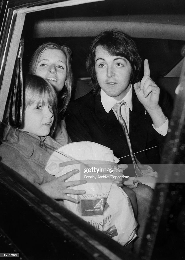 12th March 1969 Paul McCartney The Last Of Beatles Drives Away With His