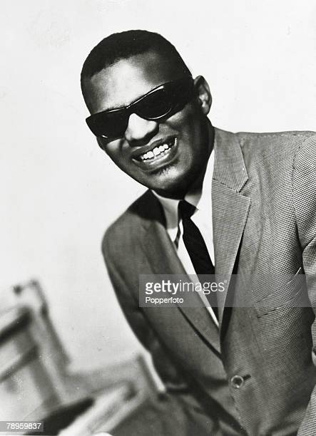 circa 1962's Ray Charles19302004 American blues gospel and soul singer and musician portrait