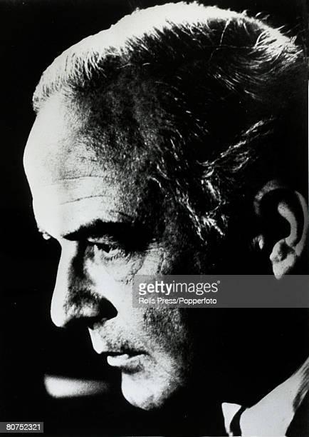Music Personalities, pic: circa 1970, Samuel Barber, American composer