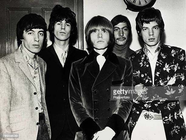 March 1967 The Rolling Stones group leftright Bill Wyman Keith Richards Brian Jones Charlie Watts and Mick Jagger