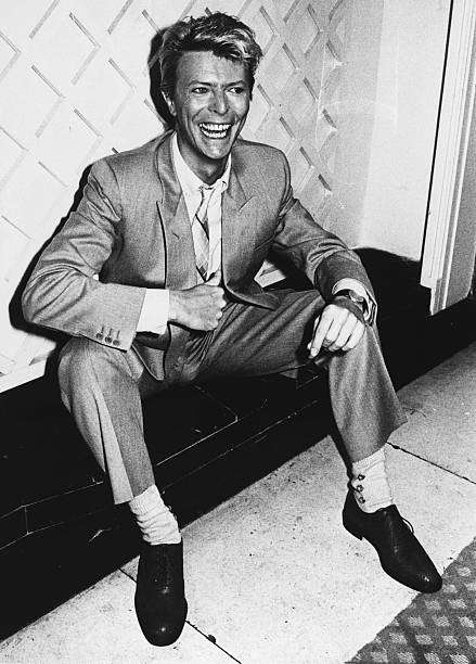 Music Personalities. pic: March 1983. British pop singer David Bowie.