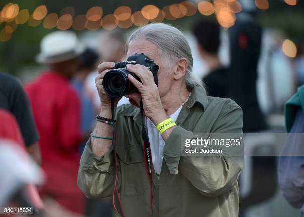 Music photographer and Morrison Hotel Gallery cofounder Henry Diltz attends the 10th annual Medlock Krieger All Star Concert benefiting St Judes...