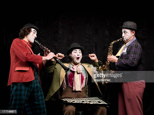 music - mime stock photos and pictures