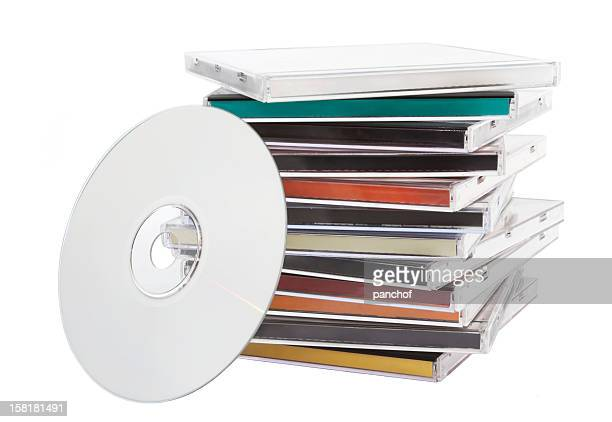cd music - compact disc stock pictures, royalty-free photos & images