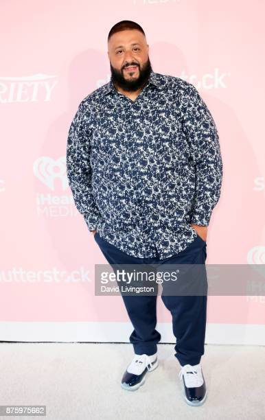 Music prodcuer DJ Khaled attends Variety's 1st Annual Hitmakers Luncheon at Sunset Tower on November 18 2017 in Los Angeles California