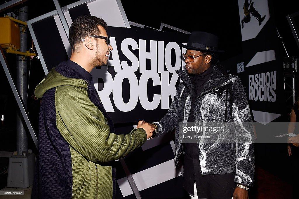 Music Producer Afrojack and Hip-hop artist 2 Chainz attend