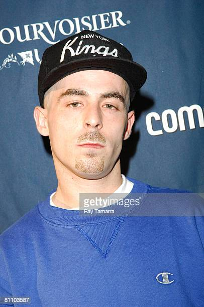 Music producer Alchemist attends the Courvoisier And LRG Pop Up Store at the Reed Space on May 15 2008 in New York City