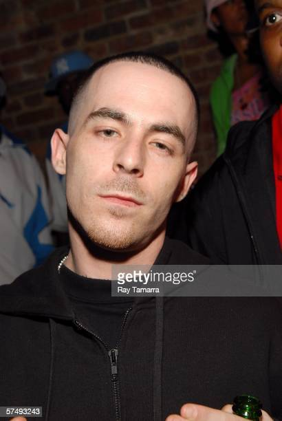 Music producer Alchemist attends the ESPN The Magazine And Hummer's PreDraft Celebrity Bash at Club Sol on April 28 2006 in New York City