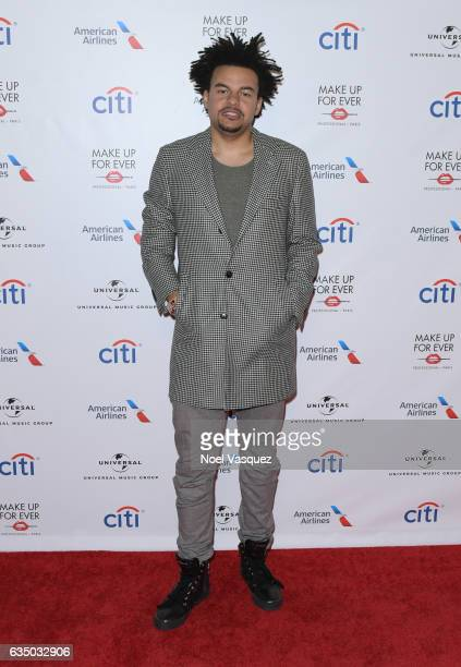 Music producer Alex da Kid arrives at Universal Music Group 2017 Grammy after party presented by American Airlines and Citi at the Ace Hotel on...