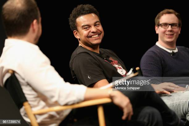 Music producer Alex da Kid attends the 'Future of Film' during the 2018 Tribeca Film Festival at Spring Studios on April 25 2018 in New York City