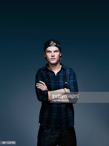 Music producer and Dj Avicii is photographed for ES magazine on January 21  2014 in London