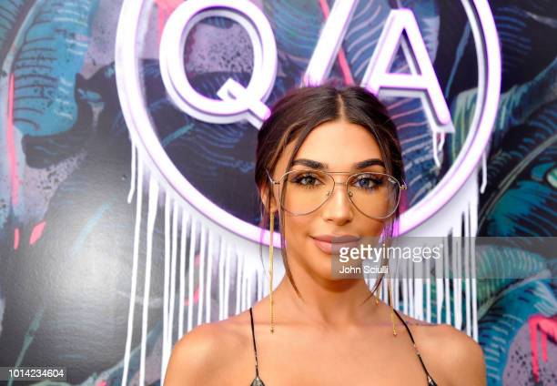 Music Producer and DJ Chantel Jeffries attends Quay Australia Blue Light Launch hosted by Music Producer DJ Chantel Jeffries on August 9 2018 in Los...