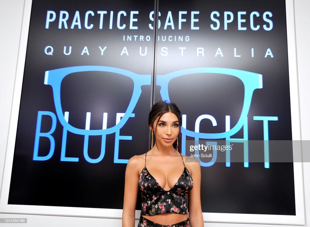 Music Producer and DJ Chantel Jeffries attends Quay Australia Blue Light Launch hosted by Music Producer + DJ Chantel Jeffries on August 9, 2018 in Los Angeles, California.