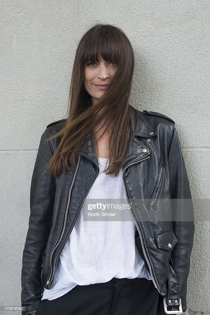 Music Producer and Model Caroline de Maigret on day 4 of Paris Collections: Men on June 29, 2013 in Paris, France.