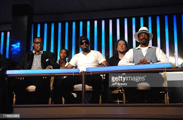 Music producer Andre Hurrell and rapper/honoree Snoop Dogg during the 2007 Vh1 Hip Hop Honors at Hammerstein Ballroom on October 4 2007 in New York...