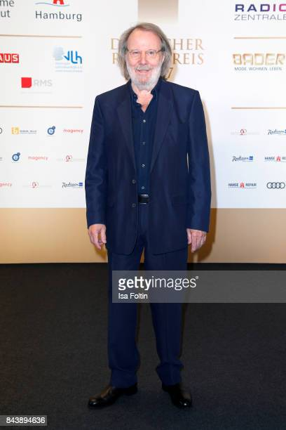 Music producer Benny Andersson attends the 'Deutscher Radiopreis' at Elbphilharmonie on September 7 2017 in Hamburg Germany