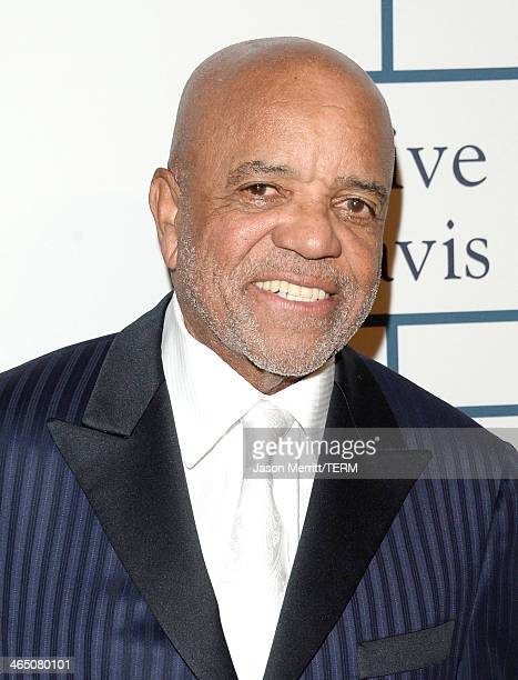 Music producer Berry Gordy attends the 56th annual GRAMMY Awards PreGRAMMY Gala and Salute to Industry Icons honoring Lucian Grainge at The Beverly...