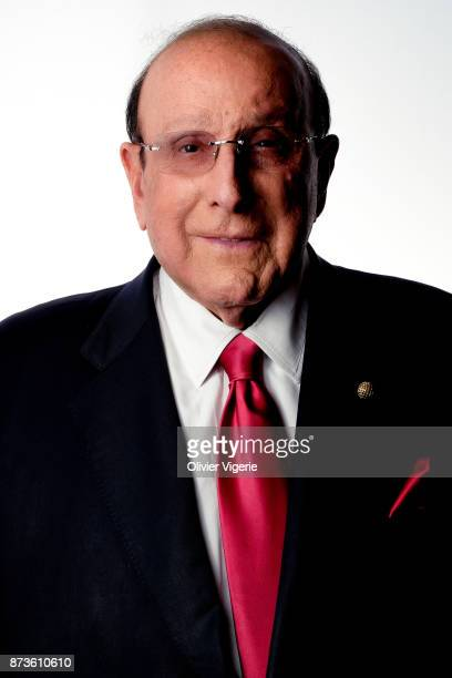 Music Producer Clive Davis is photographed on September 2 2017 in Deauville France
