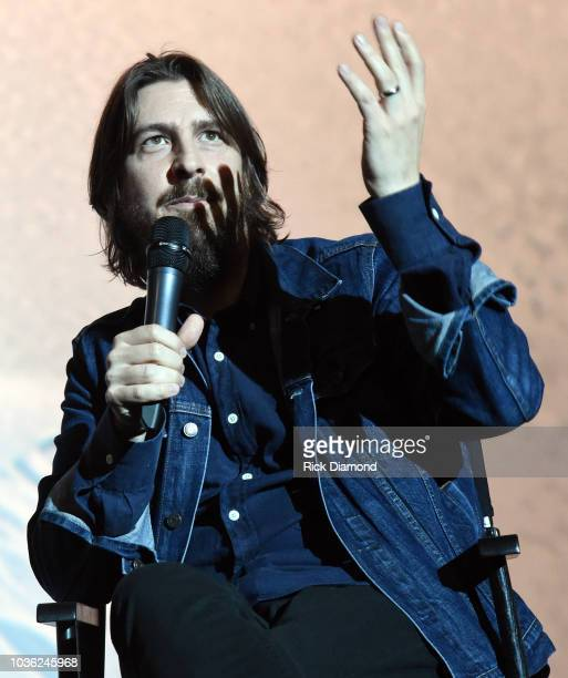 Music Producer Dave Cobb attends 'A Star Is Born' screening with Bradley Cooper and Lukas Nelson at AMC DINEIN Thoroughbred 20 in Franklin Tennessee